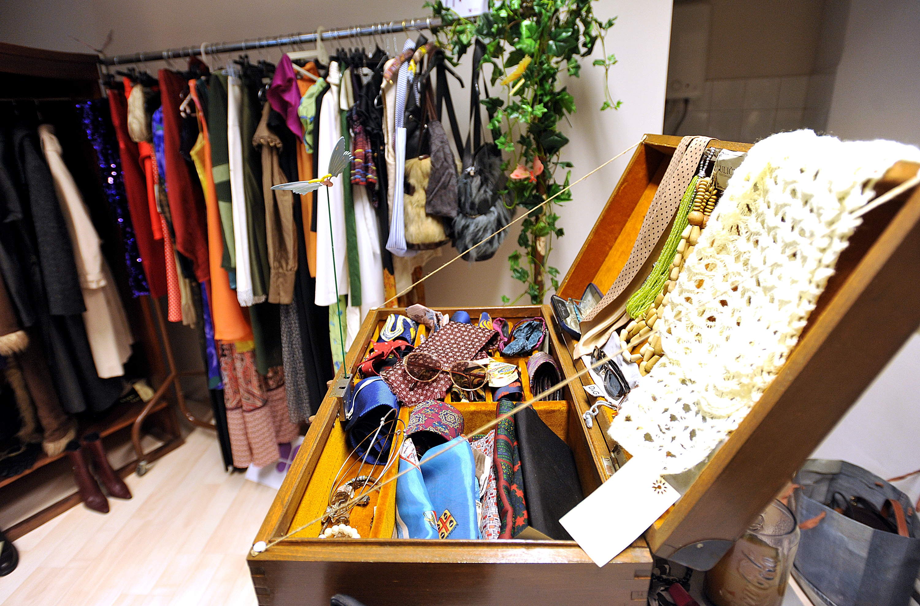 Fashion Zagreb Loves Vintage And Second Hand Shops